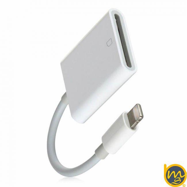 تبديل لايتنينگ به کارت خوان حافظه SD اپل اصلی (اورجینال اپل استور)