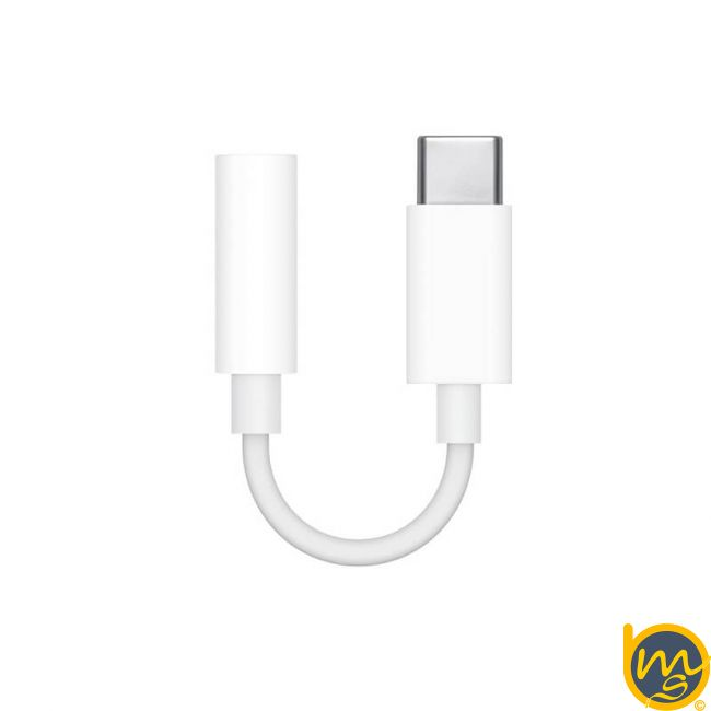 کابل تبدیل Type-C به جک 3.5 میلیمتری هدفون اپل اصلی (اورجینال اپل استور)