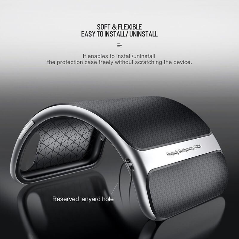 کاور راک مدل Royce مناسب برای گوشی موبایل اپل iPhone X و iPhone Xs