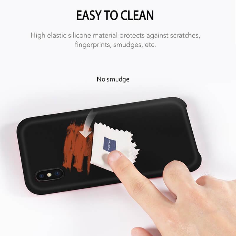 کاور سیلیکونی راک مدل Touch مناسب برای گوشی موبایل اپل iPhone X