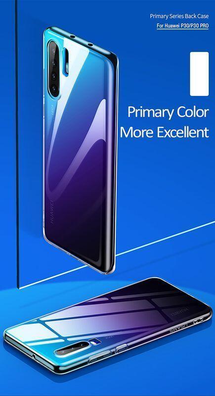کاور شفاف یوسامز مدل Primary مناسب برای گوشی موبایل هوآوی P30