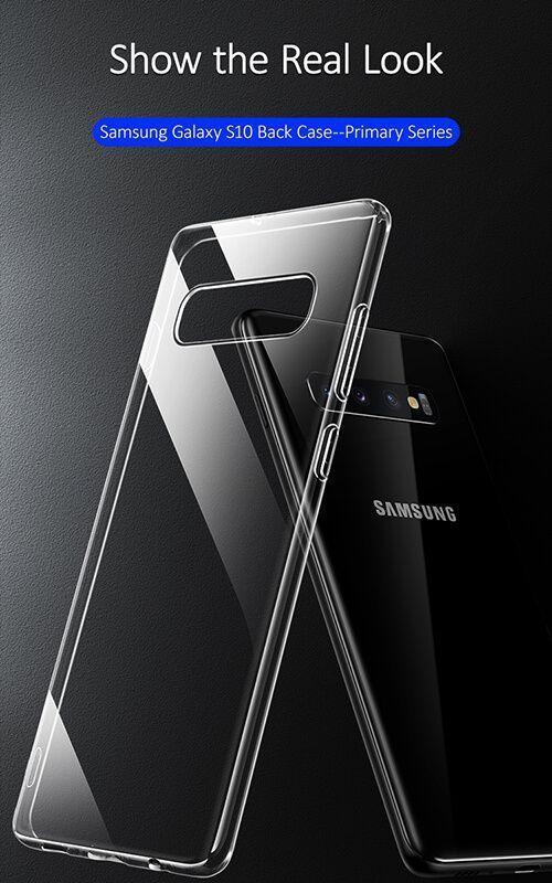 کاور شفاف یوسامز مدل Primary مناسب برای گوشی موبایل سامسونگ گلکسی S10