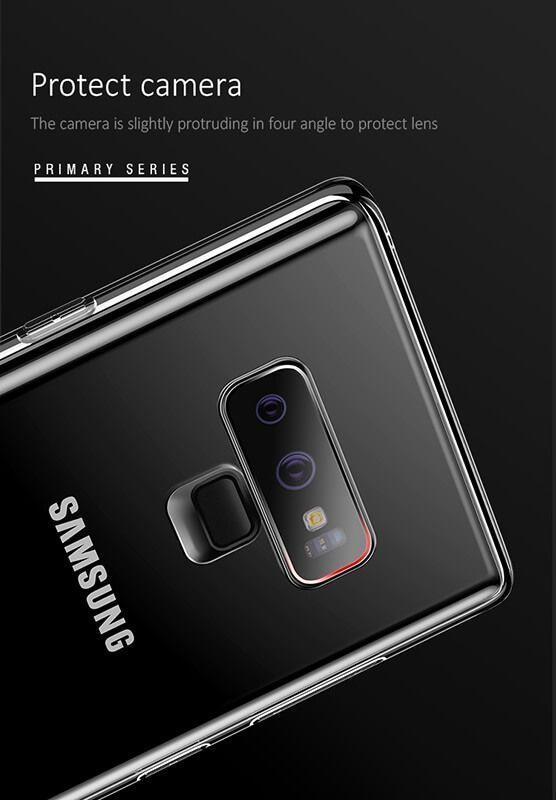 کاور شفاف یوسامز مدل Primary مناسب برای گوشی موبایل سامسونگ گلکسی نوت 9
