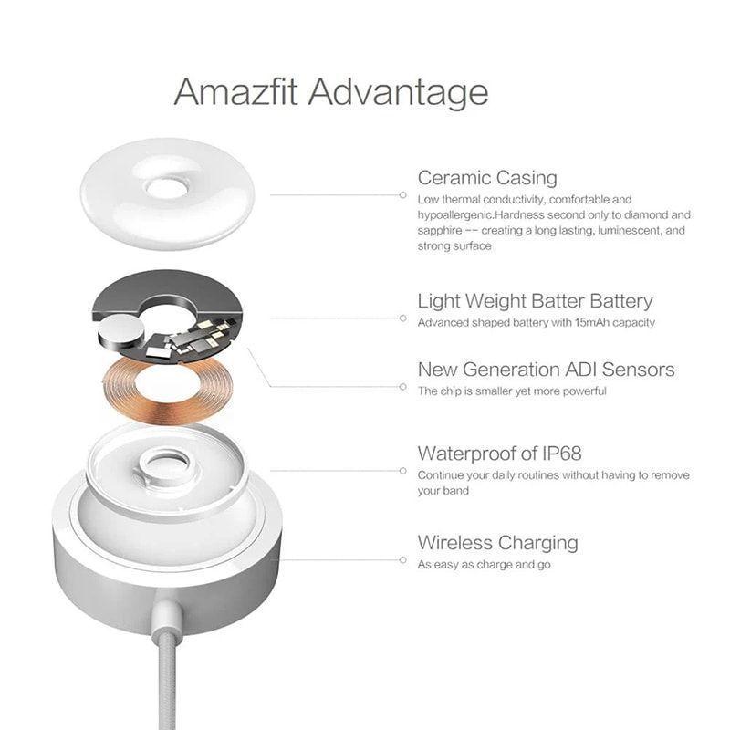دستبند سلامتی هوشمند شیائومی مدل Amazfit Frost