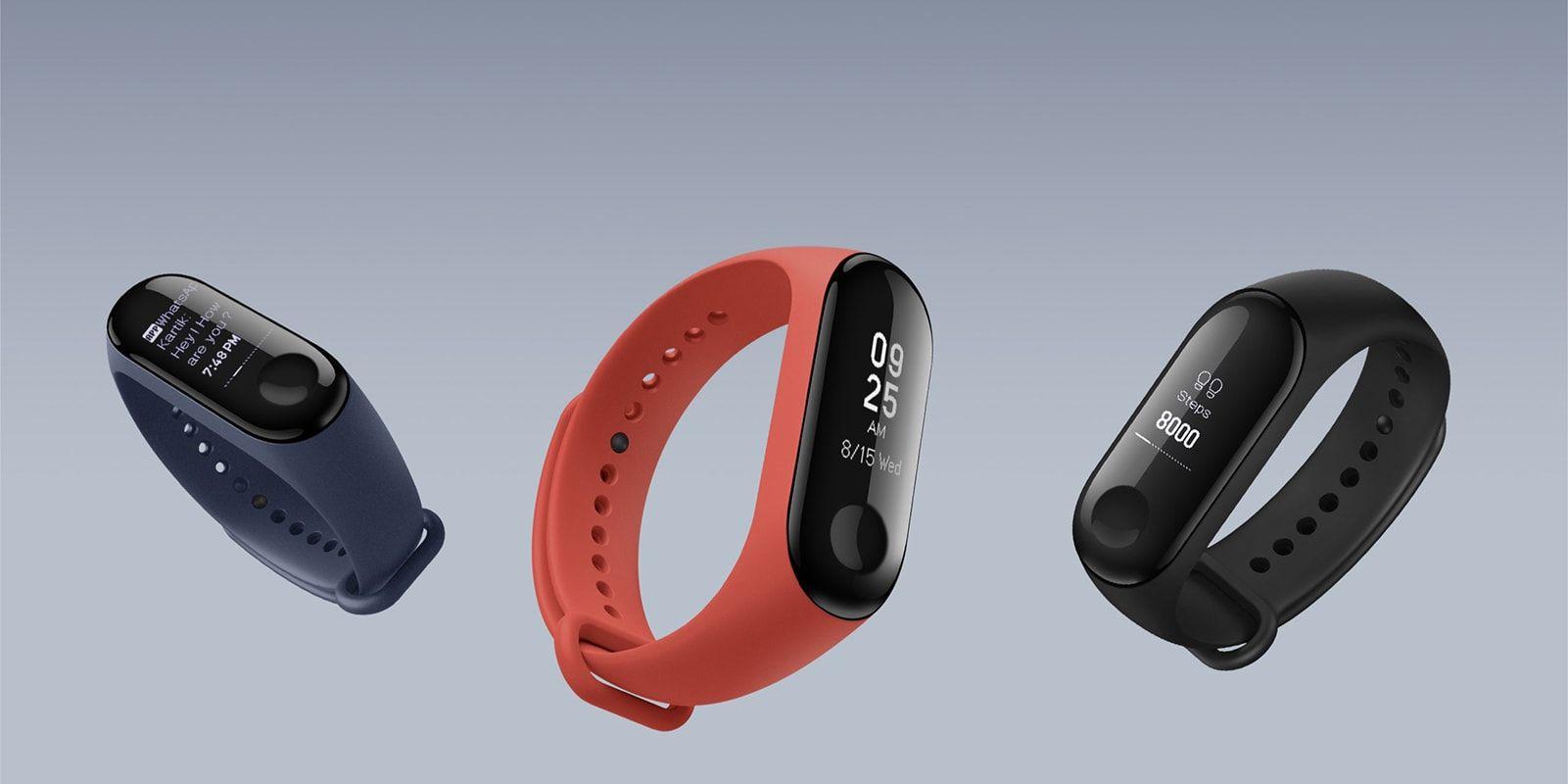 دستبند هوشمند شیائومی مدل Mi Band 3