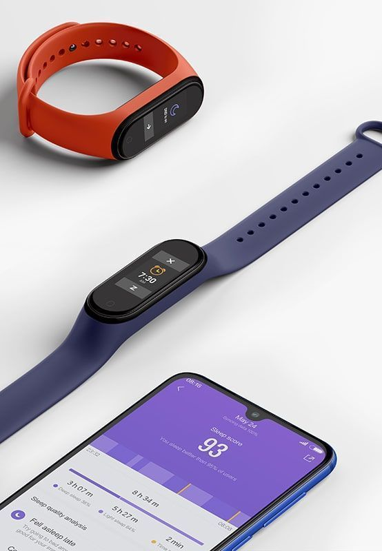 دستبند هوشمند شیائومی مدل Mi Band 4 نسخه گلوبال