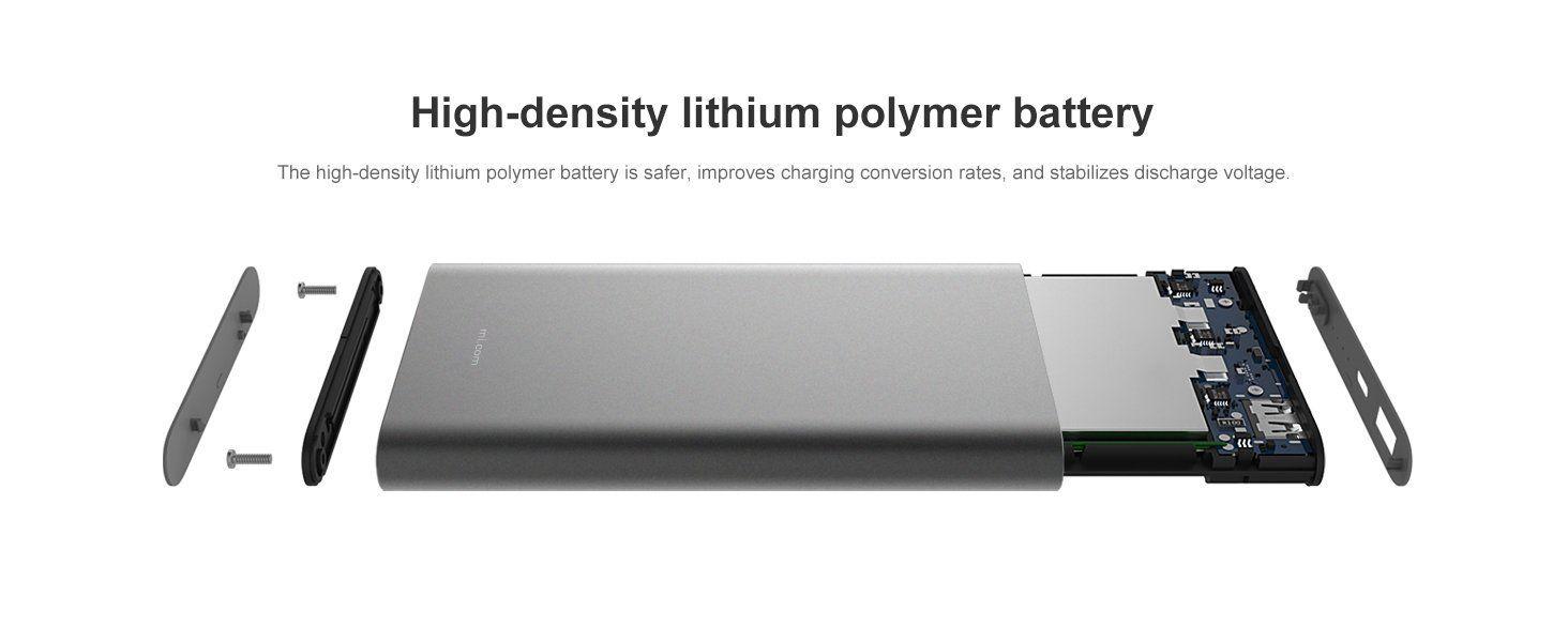 شارژر همراه شیائومی مدل PLM03ZM ظرفیت 10000 میلی آمپر
